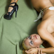 Erotic nude woman — Stock Photo