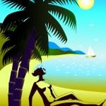 Постер, плакат: Отдых на море